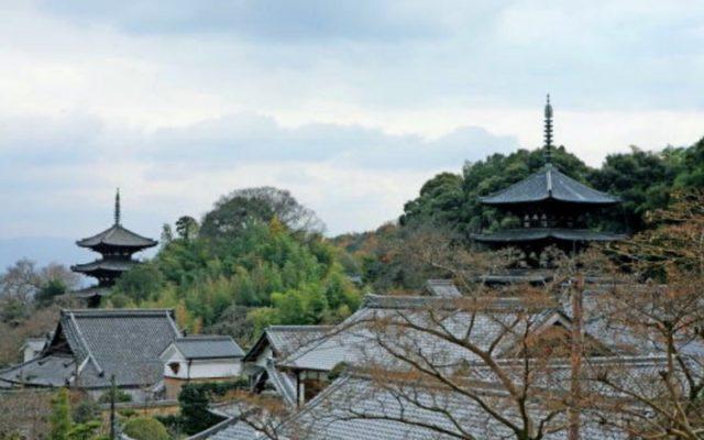 當麻寺俯瞰