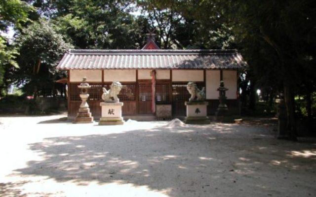 屏風杵築神社社殿