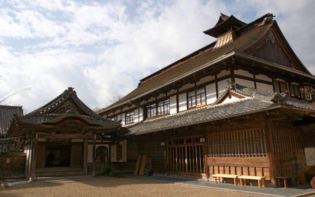 竹林院 玄関と宿坊