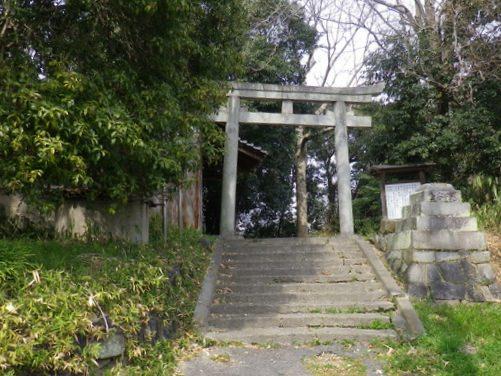 広峰神社鳥居