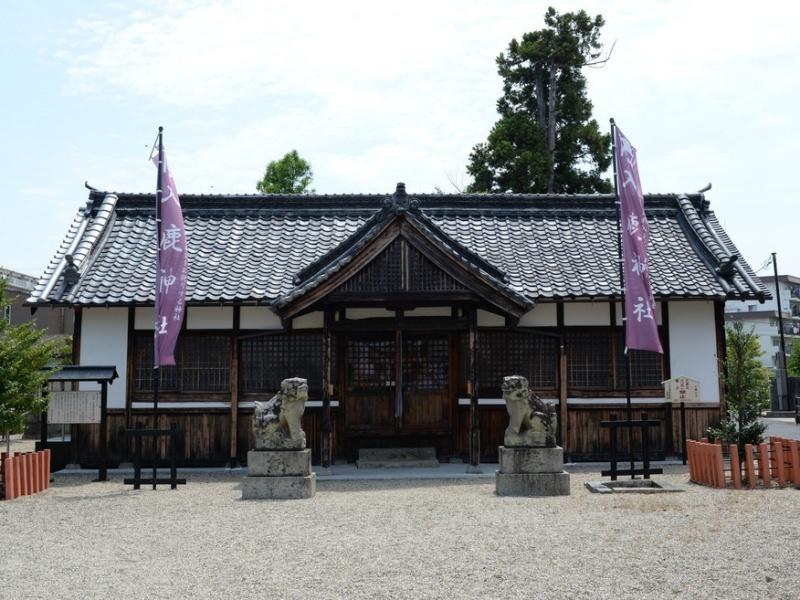 入鹿神社拝殿