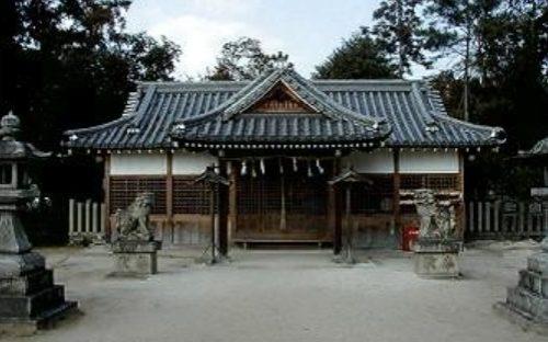 糸井神社拝殿