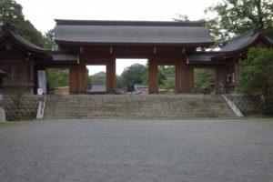 橿原神宮北神門
