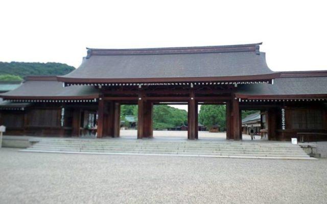 橿原神宮南神門