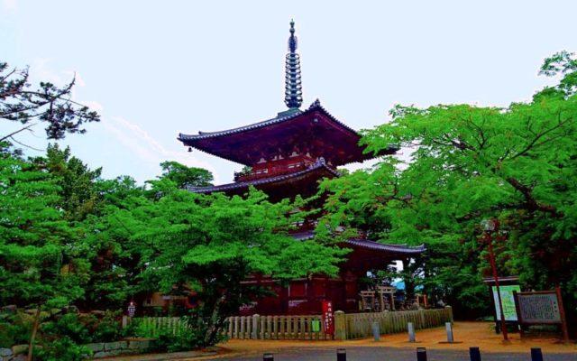 百済寺 三重塔