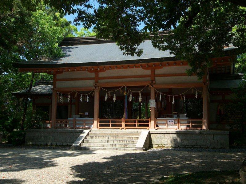賣太神社拝殿