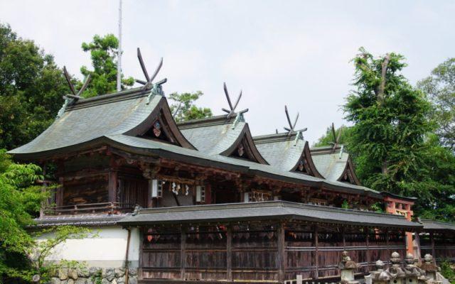 多神社本殿