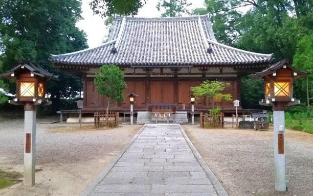 大直禰子神社拝殿