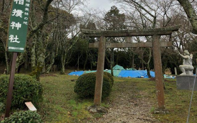 相撲神社 鳥居